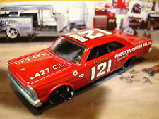 HOT WHEELS 1965 FORD GALAXIE LIMITED EDITION STOCK CAR 1/64