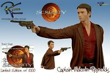 Serenity Firefly Captain Malcolm Reynolds (Nathan Fillion) Mini Bust New