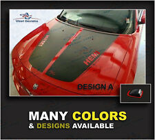 Dodge Charger Hood Racing Stripes Kits 2006 2007 2008 2009 2010