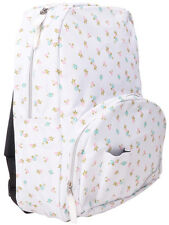Alpinestars Backpack Floral Bag Bookbag Zipper Adjustable Strap Moto Women