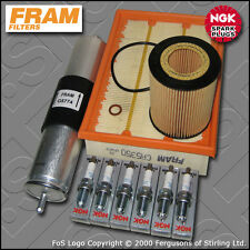 SERVICE KIT BMW 3 SERIES 323I E46 FRAM OIL AIR FUEL FILTERS PLUGS (1998-2000)