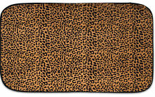"Exotic Leopard Print Quick Dry 20"" x 31.5"" Memory Foam Bathroom Rug"