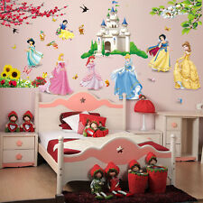 Fairy Princess Flower Girl Baby Nursery Bedroom Vinyl Art Wall Sticker Decal