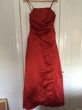 MR K stunning red beaded evening dress. Size 12