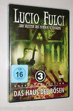 LUCIO FULCI DAS HAUS DES BÖSEN DVD DER MEISTER DES HORROR SCHOCKER COLLECTION 3