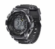 Big Kids Boys Wristwatch Multi-function Alarm Timer Digital Wrist Watch Black