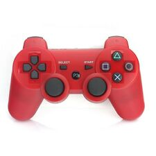 Red Wireless Bluetooth PS3 Joystick Shock Vibration Remote Console Controller