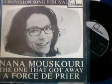 NANA MOUSKOURI - A FORCE DE PRIER (EUROVISION FEST.)-RARE PROMO ON FONTANA LABEL