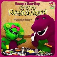 Barney And Baby Bop Go To The Restaurant-ExLibrary