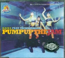 D.O.N.S. Feat. Technotronic - Pump Up The Jam 6 Tracks Cd Eccellente