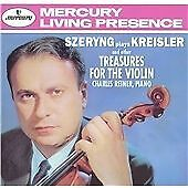 Henryk Szeryng : Szeryng plays Kreisler and other Treasures for the Violin CD
