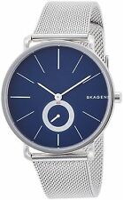 SKAGEN MEN'S HAGEN WATCH BLUE DIAL MESH STRAP SKW6230 - 2 YEARS WARRANTY