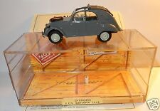 OLD MADE IN FRANCE NOREV CITROEN 2CV SAHARA 4X4 1961 GRIS FONCE IN BOX 1/43