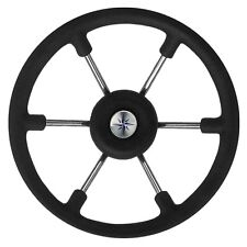 Boat Steering Wheel Consul with Black Grip -  330mm