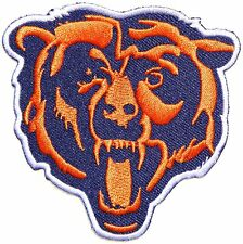 FOOTBALL Chicago Bears Iron-on/Sew-on Embroidered PATCH/applique