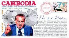 COVERSCAPE computer designed 45th Nixon orders Cambodia Invasion event cover