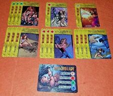 OVERPOWER Witchblade PLAYER SET hero IMAGE 14 sp The Chosen Energy Wrath