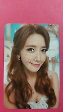 SNSD YOONA Official PHOTOCARD 5th LION HEART #1 Girl's Generation Photo Card 윤아