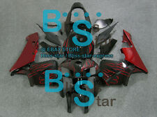 Flames Red INJECTION Fairing Bodywork Fit For HONDA CBR600RR 2005-2006 33 DD