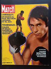 paris match n°1206 boxe bouttier raid japon tel-aviv     1972