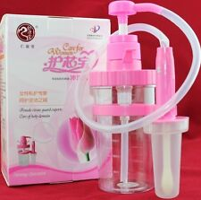 female health care vagina cleanser inflating flusher Reuseable douche anal enema
