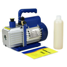 1/3HP 4CFM Rotary Vane Deep Vacuum Pump AC Air Conditioning Tool R410a R134