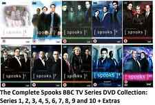 SPOOKS COMPLETE SERIES 1 2 3 4 5 6 7 8 9 10 DVD Box Set Collection ORIGINAL UK