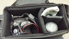 Canon EOS Rebel XSi 12.2 MP DSLR Camera - Black Kit w/ EF-S IS 18-55 AND 55-250