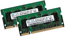 2x 1GB 2GB RAM SAMSUNG Speicher ASUS ASmobile A7 Notebook A7Jb DDR2 667 Mhz