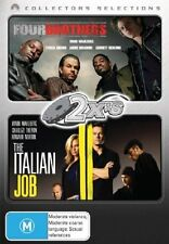 Four Brothers / The Italian Job (2 Discs) DVD in LIKE NEW condition (Region 4)