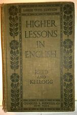 Higher Lessons in English, Reed & Kellog, 1909, Charles E Merrill