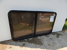 """RV Trailer Window, 49""""X29"""", W/Screens & Rings, 2 3/4 Thick, Insulated Glass  #53"""