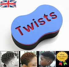 Original Magic Barber Twists Sponge Foam Hair Brush For Dread Loc Afro Coil Curl