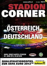 EM-Qualifikation 03.06.2011 Österreich - Deutschland + 07.06.2011 Lettland
