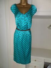 GORGEOUS LINED OCCASION DRESS BY LK BENNETT  IN VG CON SIZE UK 16 BUST 42""