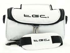 New Nintendo 3DS XL White Console Travel Bag Case with Shoulder Strap