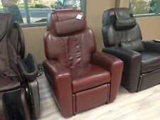 Dark Chocolate Showroom LEATHER HT-1650 Human Touch Massage Chair Recliner