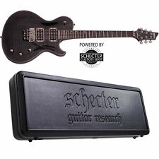 Schecter Chris Poland Solo 6 Poltergeist See-Thru Black STBLK *NEW* + HARD CASE!