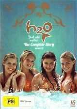 H20 - Just Add Water - The Complete Story (DVD, 2013, 16-Disc Set)-REGION 4