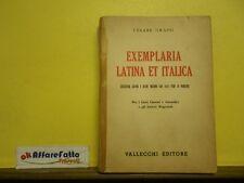 L 5.823 LIBRO EXEMPLARIA LATINA ET ITALICA DI CESARE GRASSI 1953