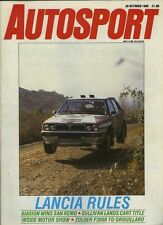 Autosport Oct 20th 1988 *Zolder F3000 & Italian Rally*