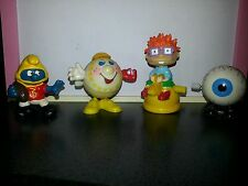 4 Figurines Smurf FOOTBALL 1987 Wind-up Baseball 1998 Chuckie Rugrats Kangaroo