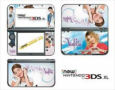 SKIN STICKER AUTOCOLLANT - NINTENDO NEW 3DS XL - 3DSXL  REF 189 VIOLETTA