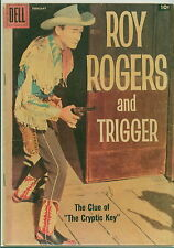 Dell Comic Roy Rogers #122 Photo Cover VGF