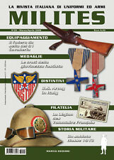 MILITES da n26 a n30 rivista militaria magazine WW2 helmet uniform badge medal