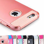 Hybrid Rugged Rubber Hard Shockproof Case Cover Skin for Apple iPhone 5 5S 5C