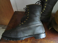 Vintage top-of-the-line TIMBERLAND Leather Boots !! Made in USA - size Men's 10