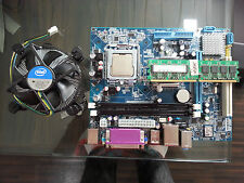 INTEL 945/G31 GSONIC MOTHERBOARD,C2D 2.66GHZ CPU,2GB DDRII RAM , Intel FAN**