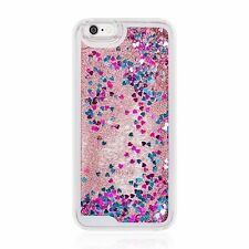 10 x Joblot Wholesale Market Car Boot Liquid Glitter Phone Cases for iPhone 5C