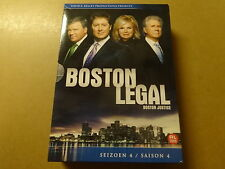 5 DVD BOX / BOSTON LEGAL: SEIZOEN 4 - SEASON